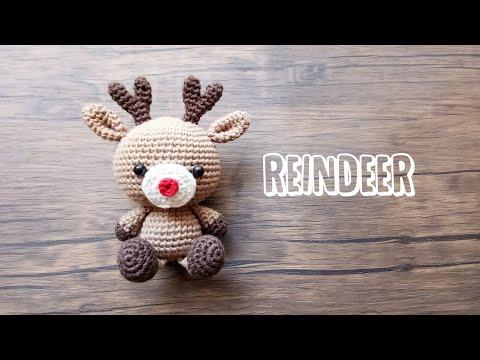 Reindeer amigurumi pattern crochet | 360x480