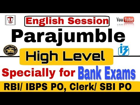 PARAJUMBLE Tricks Specially for RBI Assistant, SBI PO Mains, SBI PO etc || Most important