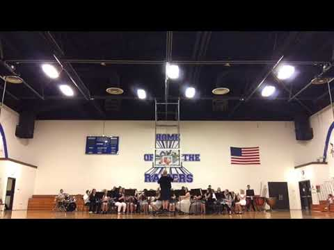 East Burke Middle School Band 5.8.18 part 1
