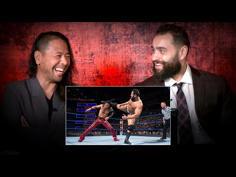 Shinsuke Nakamura and Rusev rewatch their Fastlane match: WWE Playback