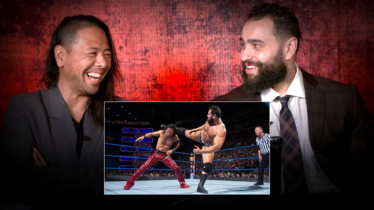 Video: Rusev And Shinsuke Nakamura Relive Their WWE Fastlane