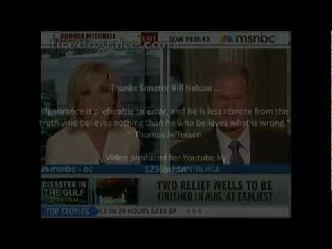 Senator Bill Nelson Leaks? Cracks in Pipe Casing Under Sea Floor Maybe No Relief