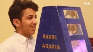 طالبان سعوديان يحصلان على الميدالية الذهبية في معرض آيتكس 2016 في ماليزيا