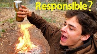 How we do Camping & Fire making the