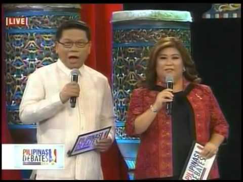 GMA 7's Pilipinas Presidential Debates 2016 TV Coverage