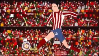 Atlético Madrid -Athletic Bilbao 3-0 9/5/12 Final Europa League parodia