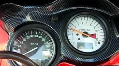 Suzuki Tl1000s acceleration 0-260km/h