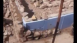Строим утеплённый цоколь из дикого камня