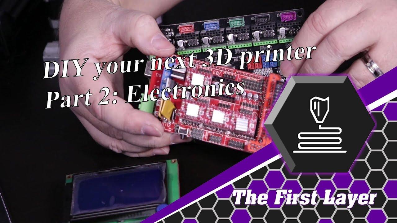 3d Printer DIY part 2: Electronics