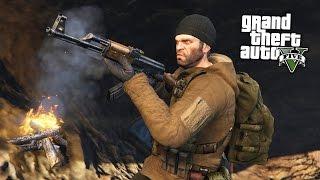 GTA 5 Зомби Апокалипсис #3 - СТРОЮ БАЗУ ДЛЯ ВЫЖИВШИХ В ШКОЛЕ! (ГТА 5 МОДЫ)
