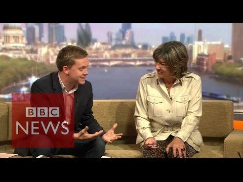Owen Jones & Christiane Amanpour on Andrew Marr (06/09/2015) - BBC News
