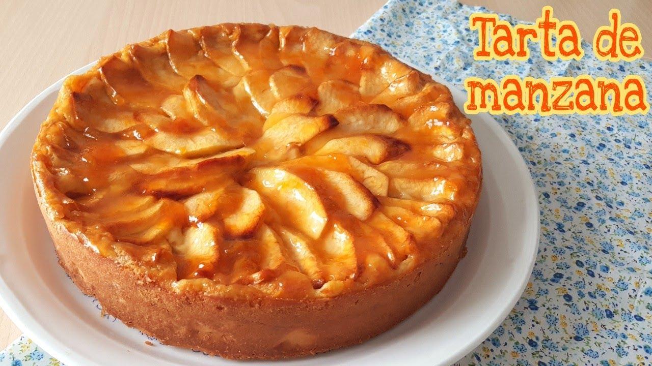 Tarta De Manzana Receta Fácil Mi Tarta Preferida