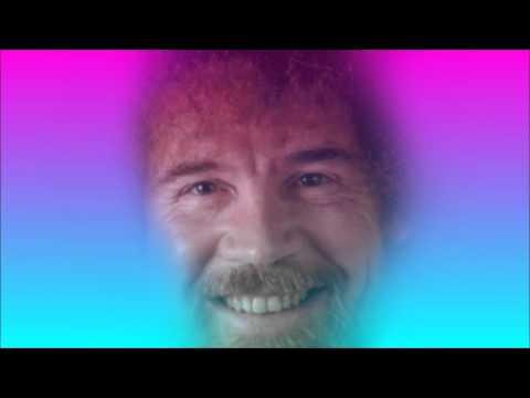 Bob Ross VAPORWAVE