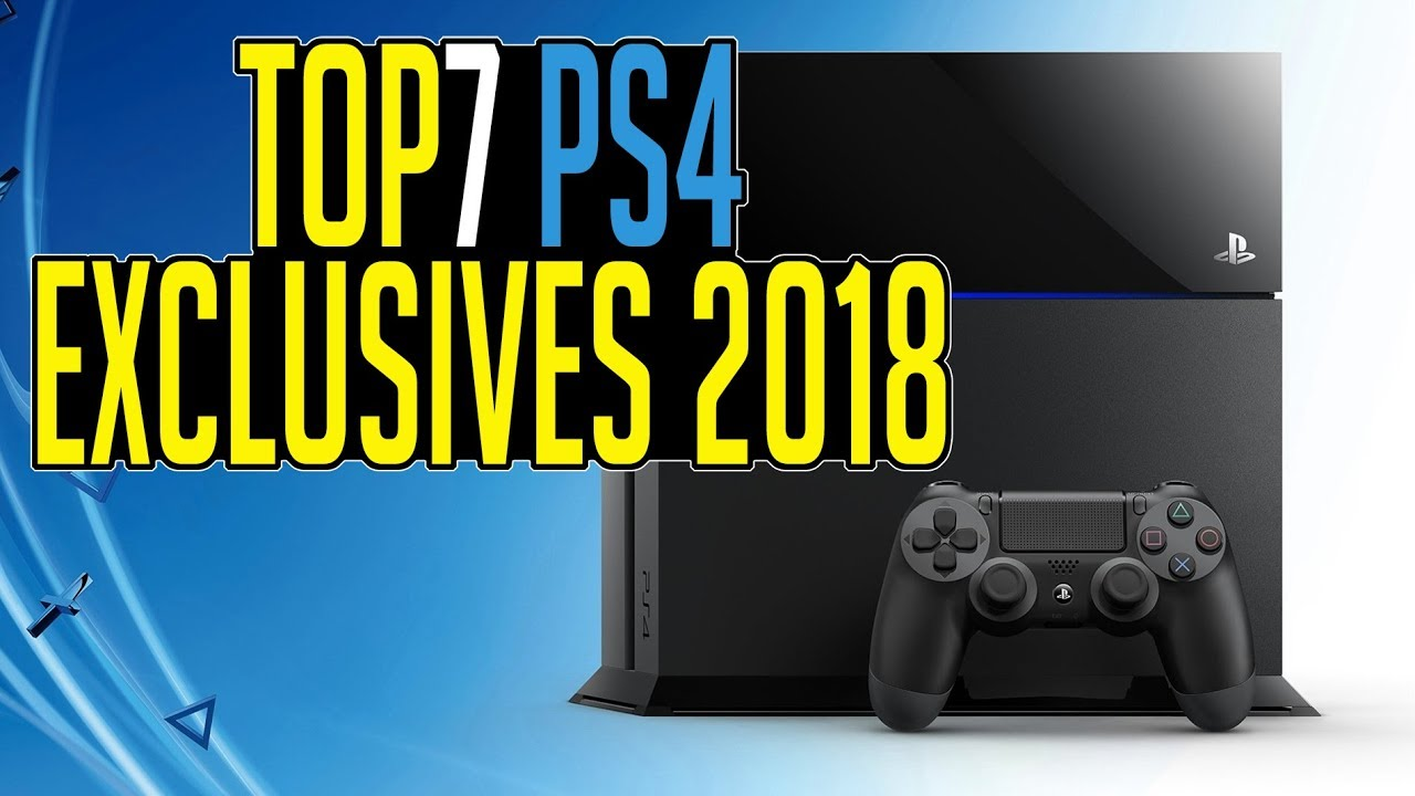 Top 7 Upcoming Ps4 Exclusive Games Of 2018 Most