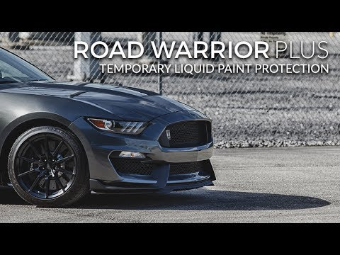 Testing Road Warrior Plus Temporary Liquid Paint Protection