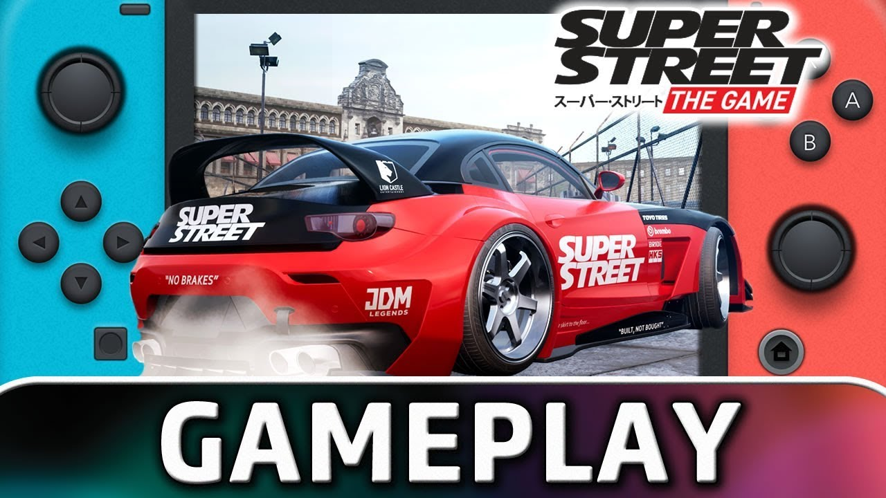 Super Street: Racer | First 20 Minutes on Nintendo Switch