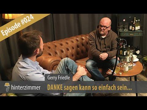 Danke sagen kann so einfach sein - Gerry Friedle, DJ Ötzi | Ausschnitt aus dem Hinterzimmer #024