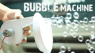 How to make a Bubble Machine using Foamex Board