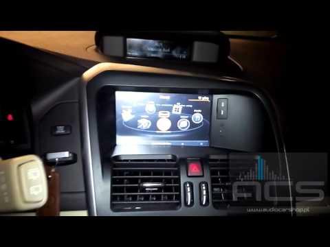 Radio dedykowane Volvo XC60 1GHz Gps Dvr Dvd Kam Bt Net 3G WiFi ACS-8272 www.audiocarshop.pl