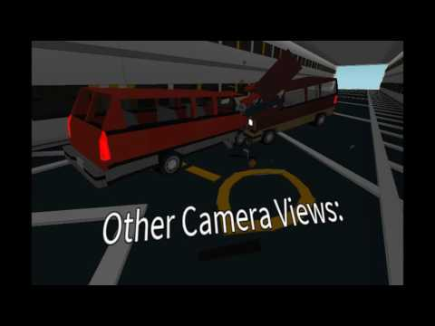 [Roblox] Offset Car Crash Test (Multiple Camera Views)