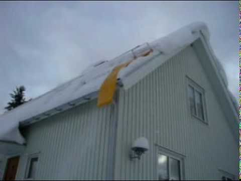 Kanon Takskottning med hjälp av snöhyveln - YouTube TR-31