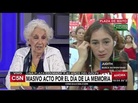 C5N - 41 año del Golpe: Entrevista a Estela de Carlotto
