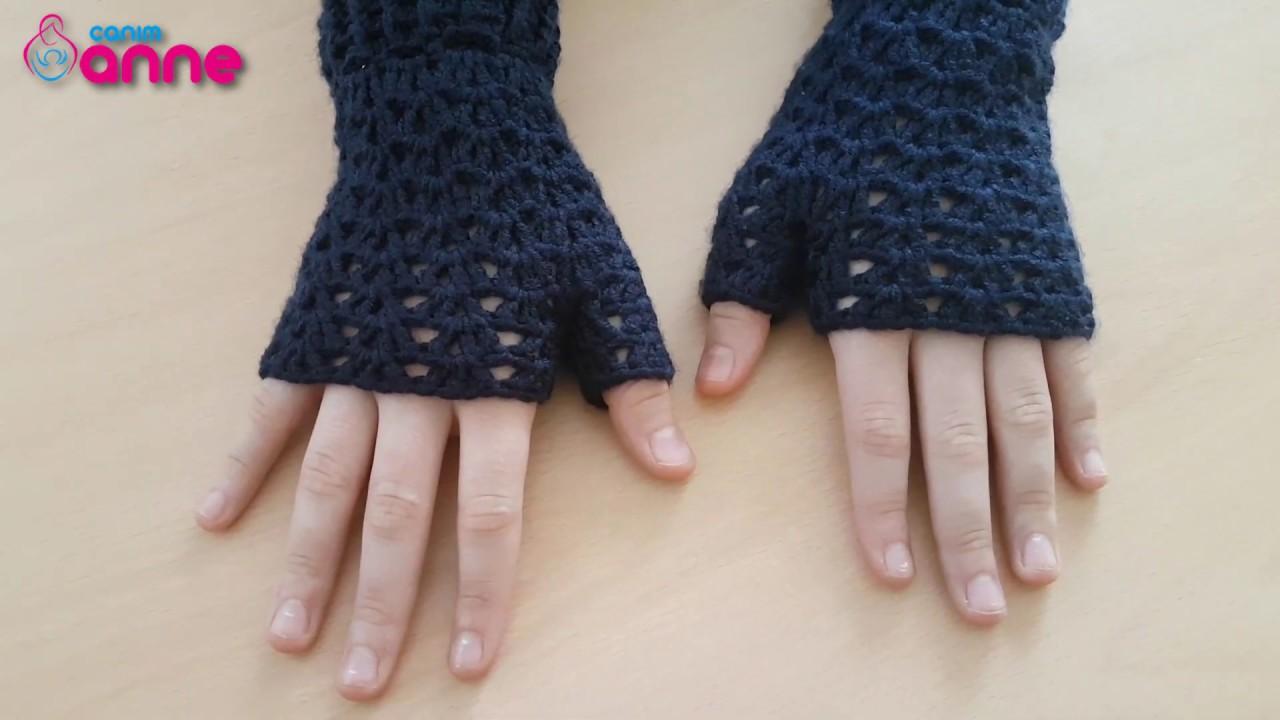 Şiş İle Kolay Yarım Parmak eldiven Nasıl Örülür?