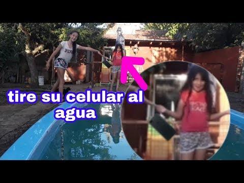 LE TIRO EL CELULAR A LA PILE!/ Solcito Sol