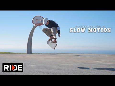 "Davis Torgerson Skateboarding in Slow Motion - ""Straight 8"""