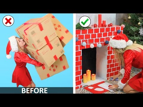 Christmas Room Decor and DIY Life Hacks Ideas You Must Try!