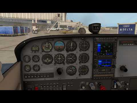 XP11 Cessna Skyhawk Startup, no messing around - YouTube
