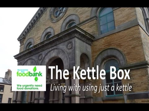 Morecambe Bay Foodbank Cooking With A Kettle With Robin