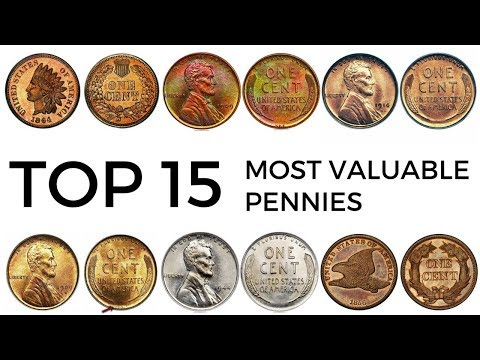 Top 15 Most Valuable Pennies