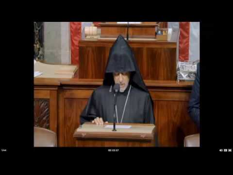 Armenian Archbishop Delivers Opening Prayer Before the U.S. House of Representatives