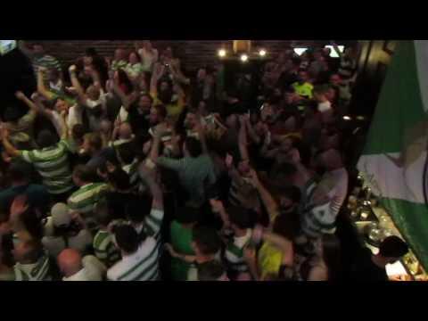 Celtic Fans in Sydney - Scottish Cup Semi-Final 24.4.2017