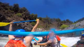 White Water Rafting GoPro Hero 4 - American River Middle Fort