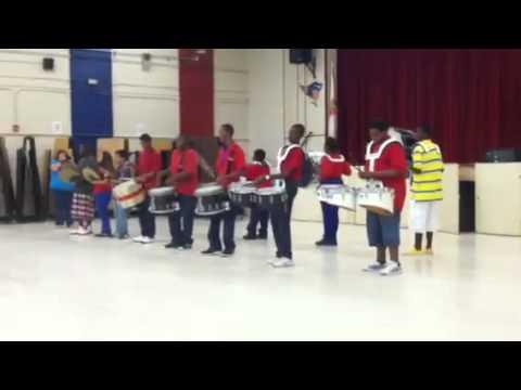 Stilwell Middle School Drum Line.!