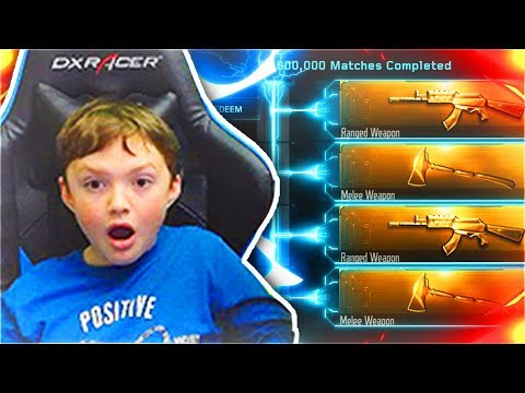 LITTLE BROTHER UNLOCKS *FREE* HOLIDAY DLC WEAPON BRIBE IN BLACK OPS 3! (BO3 HOLIDAY WEAPONS BRIBE)