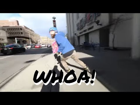 BOOM WE IN BUSINESS - Inline skating (rollerblading) flow skate, tricks, stairs, med spin