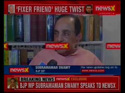 Agusta Westland Scam: BJP MP Subramanian Swamy Reacts on Agusta Congress Notes.
