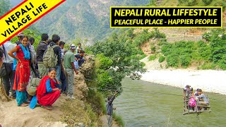 Village Life in Rural Nepal   Peaceful place and most happier peoples   IamSuman