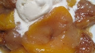 Peachy Peach Cobbler - How To Make Peach Cobbler Recipe