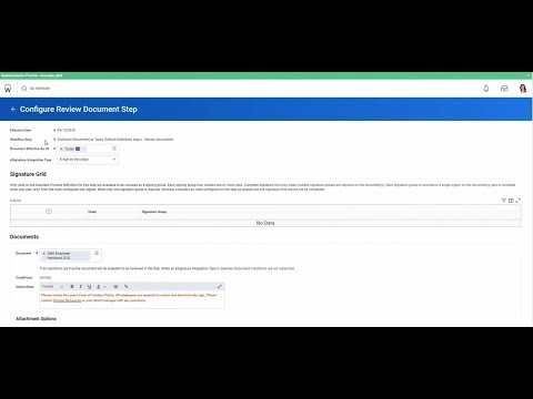 "DocuSign for Workday: How to Setup the ""Distribute Documents"" Process"