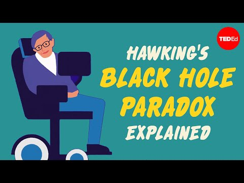 Stephen Hawking's Black Hole Paradox Explained in Animation