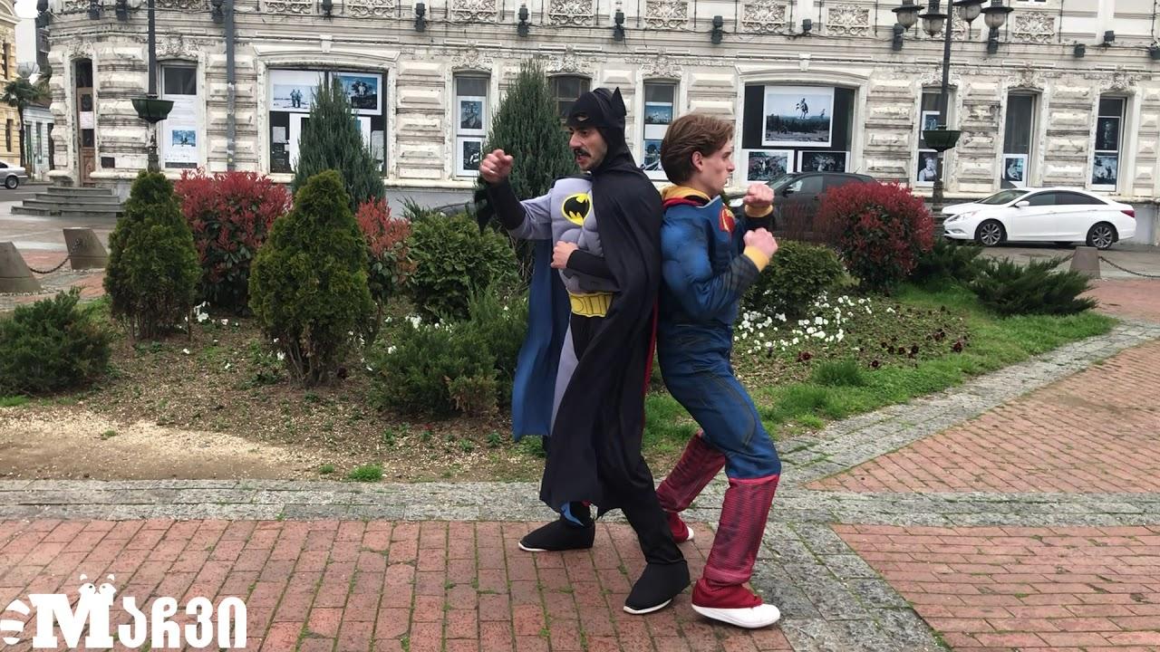 BATMAN & SUPERMAN FIGHT With covid 19