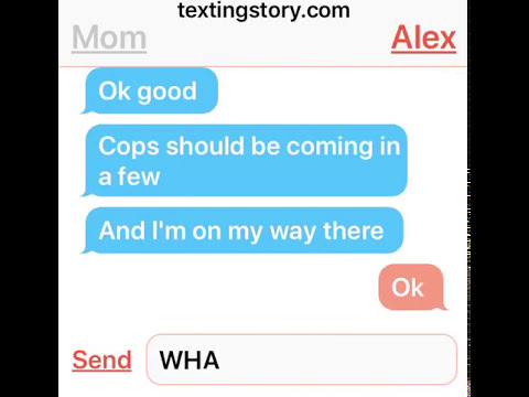 Scary texting story