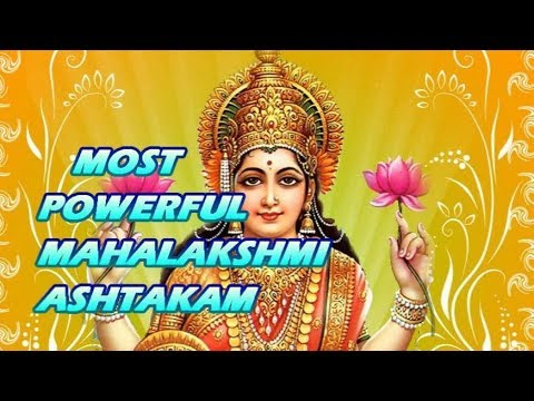 Most Powerful Mahalakshmi Ashtakam Youtube