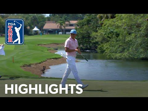 Rickie Fowler Highlights | Round 3 | Honda 2019