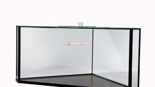 Аквариум треугольный 3d. Продукция Аквастиль. Аквариумистика.(Аквариум треугольный. Смотрите подробнее: http://www.akvastil.com/news/new/akvarium-treugolnyi-3d-151 Угловой аквариум 122 литра с..., 2015-04-24T09:43:42.000Z)