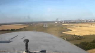 Моя посадка на Як-18Т.MOV